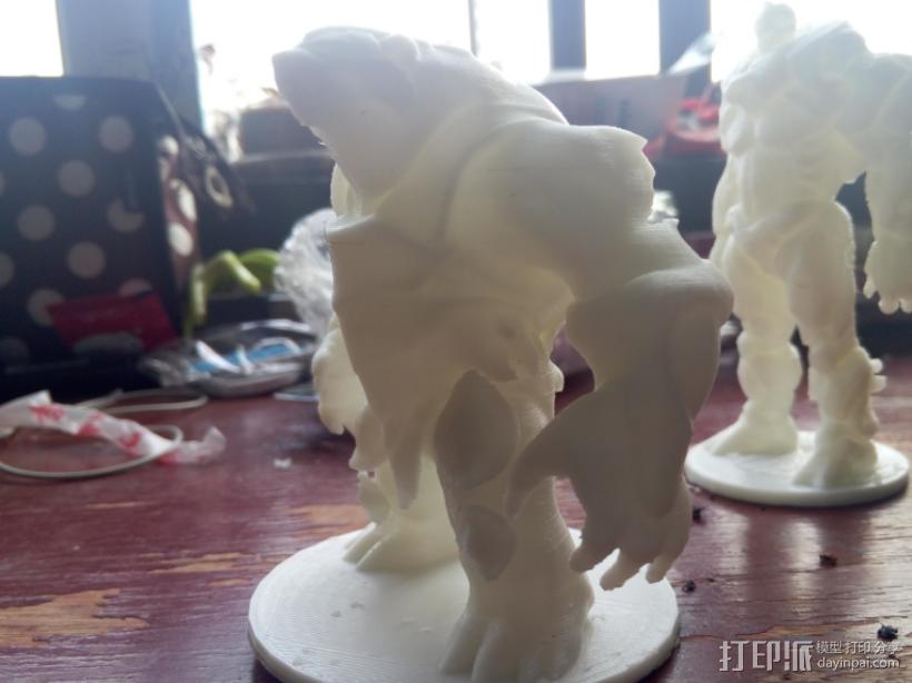 大熊熊 英雄联盟系列可以直接打印 3D模型  图4
