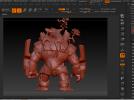 树人~炒鸡帅~可以直接打印。下面有我的上色图 3D模型 图4