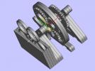 传送齿轮 3D模型 图1