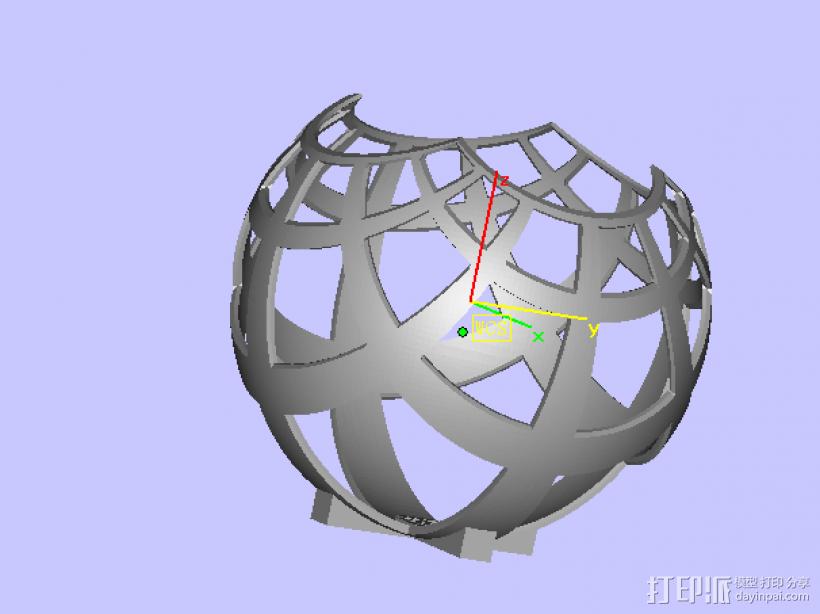 艺术品 3D模型  图1