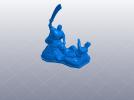抗战胜利70周年纪念——大刀向鬼子头上砍去 3D模型 图7