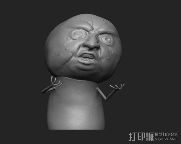 暴走漫画经典形象 3D模型  图3
