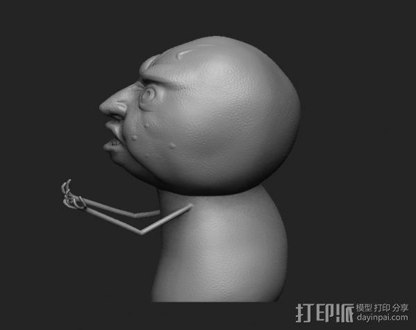 暴走漫画经典形象 3D模型  图2