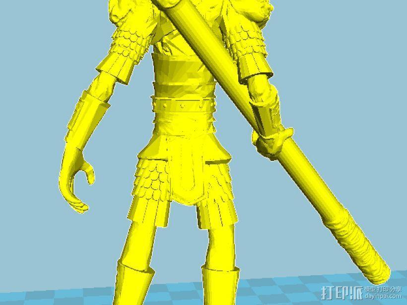 齐天大圣 3D模型  图1