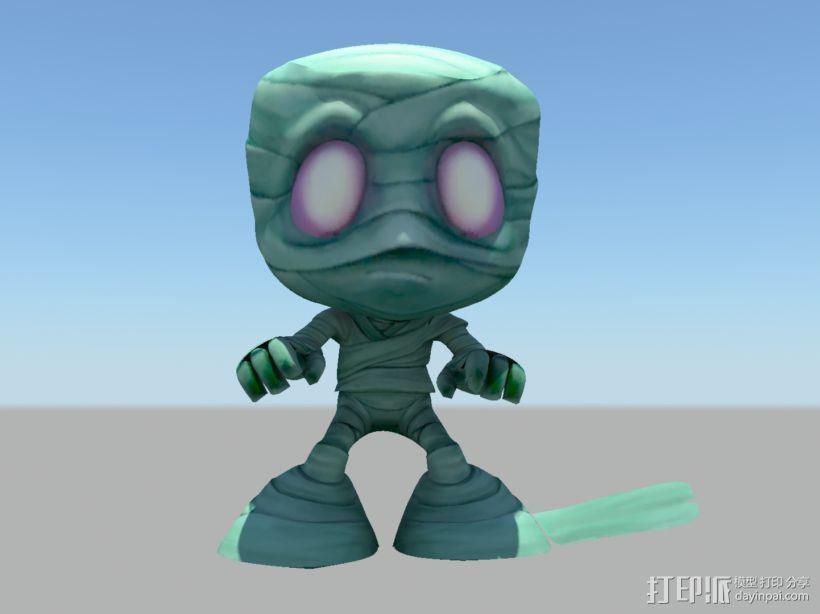 阿木木LOL 3D模型  图1