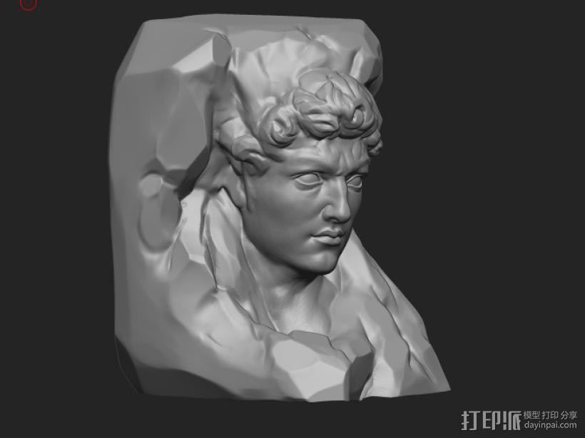 大卫 3D模型  图1