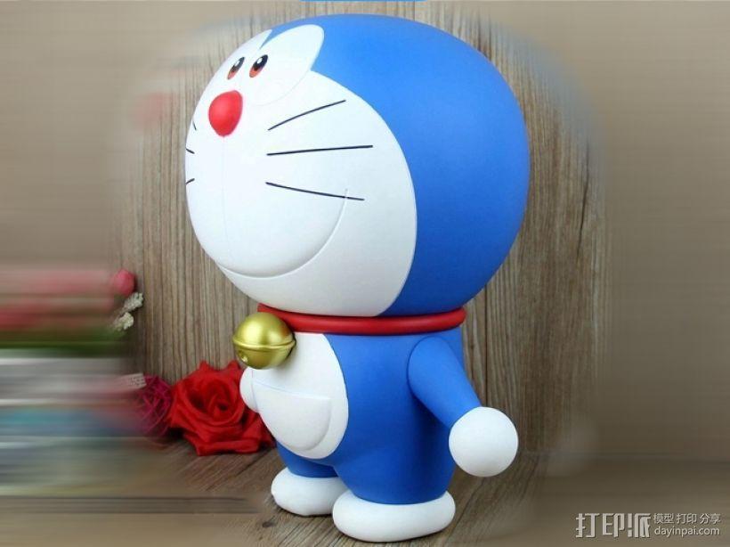 蓝胖子-哆啦A梦 3D模型  图1