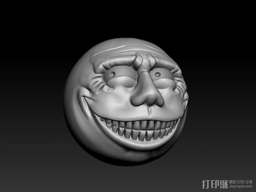 暴漫  表情   3D模型  图1