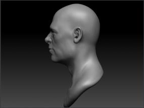 Brad Pitt高精模型 3D模型