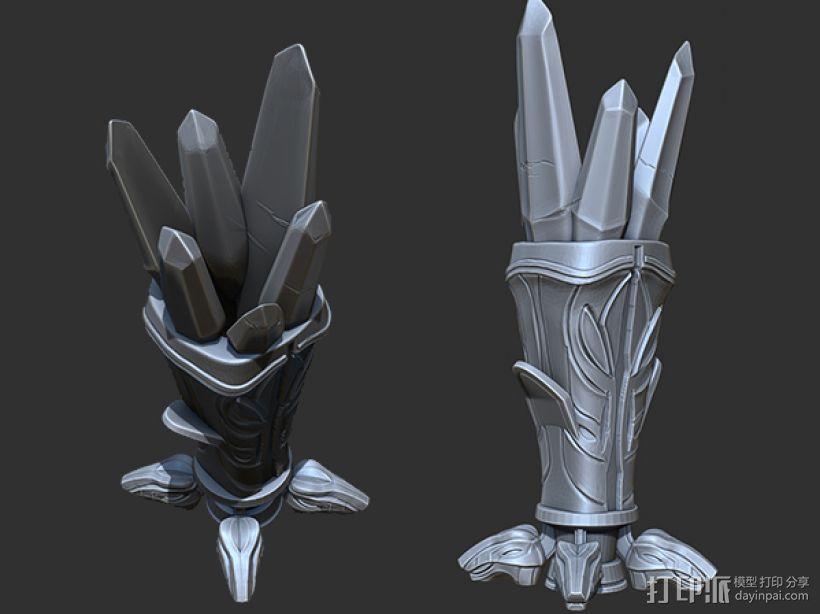 水晶魔杯_笔套 3D模型  图1