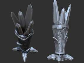 水晶魔杯_笔套 3D模型