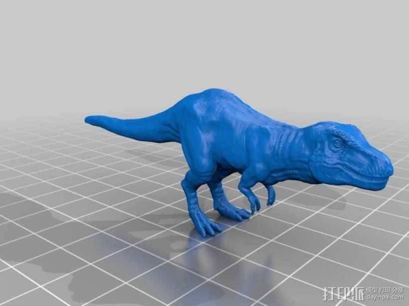 暴龙 3D模型  图1