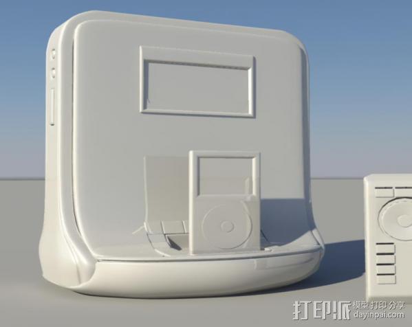 mp3 3D模型  图1