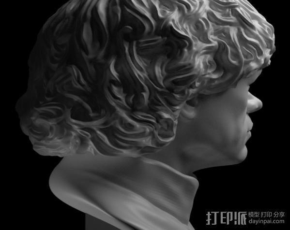 小恶魔 【权利的游戏】角色 3D模型  图3