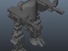 机甲 3D模型 图1