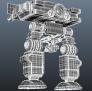 机甲 3D模型 图2