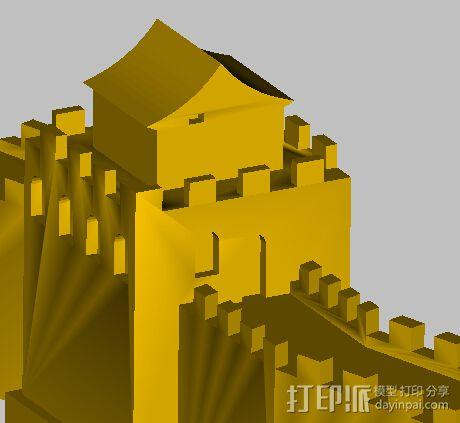 长城 3D模型  图4
