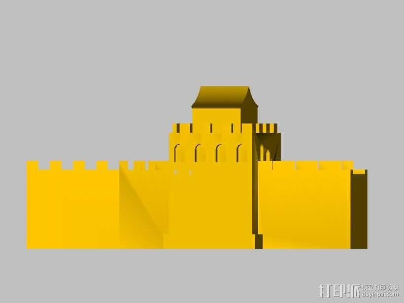 长城 3D模型  图1