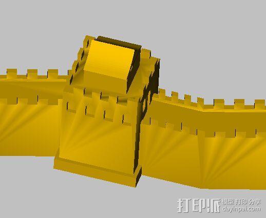 长城 3D模型  图3