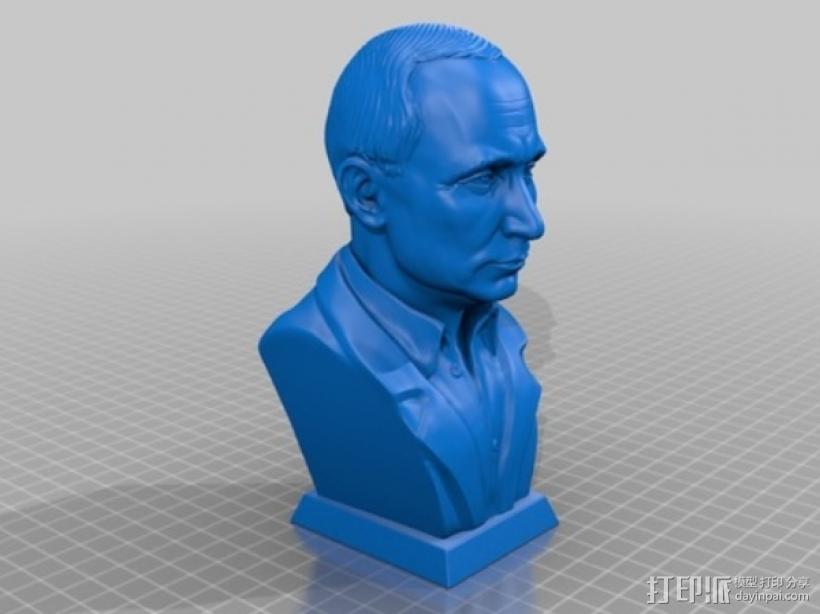 普京 3D模型  图1