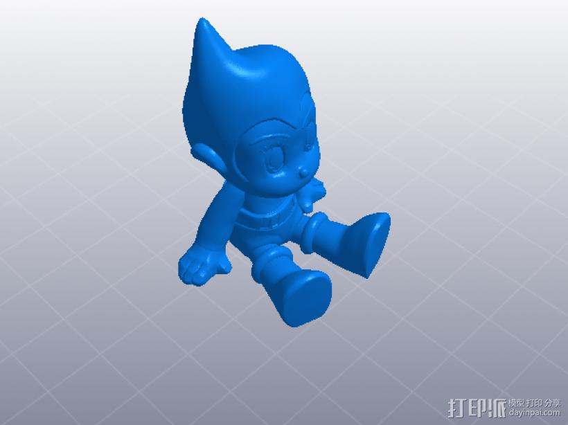 铁臂阿童木 3D模型  图4