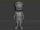 飞屋环游的老爷爷模型 3D模型 图1