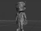飞屋环游的老爷爷模型 3D模型 图3