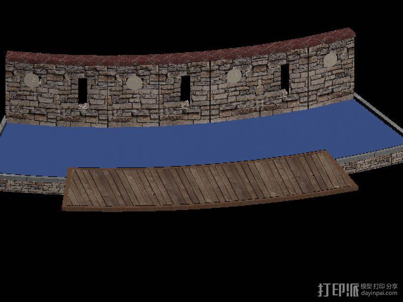 小区街头水景景观 3D模型  图3