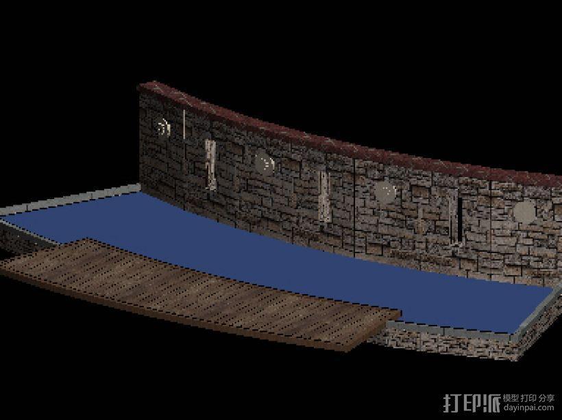 小区街头水景景观 3D模型  图4
