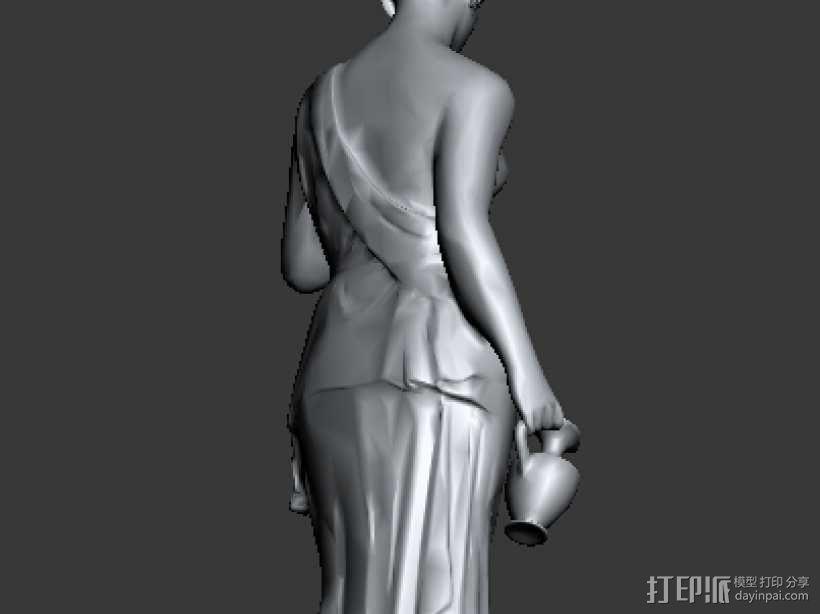 雕塑 3D模型  图3