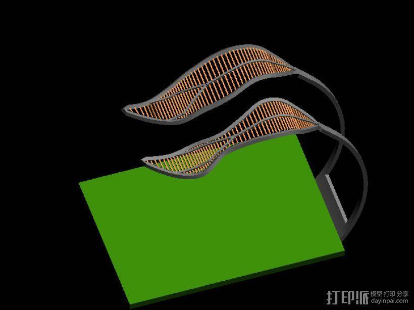 雕塑 3D模型  图1