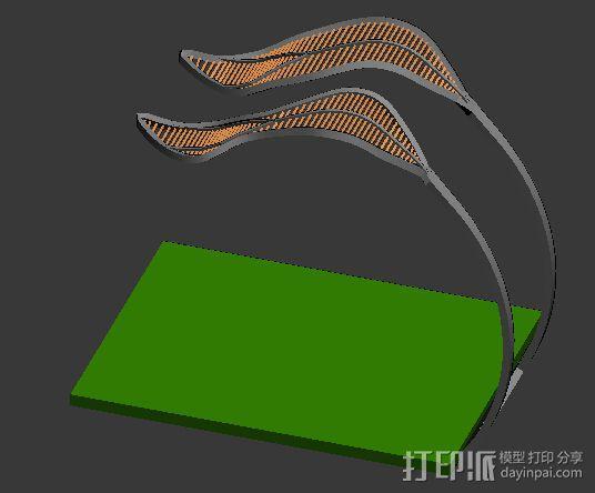 雕塑 3D模型  图2