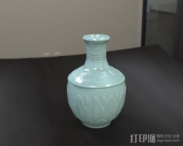 瓷瓶 3D模型  图1