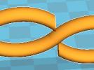 无穷大符号 3D模型 图1