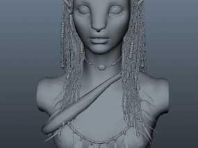 阿凡达爱人:奈特莉   3D模型
