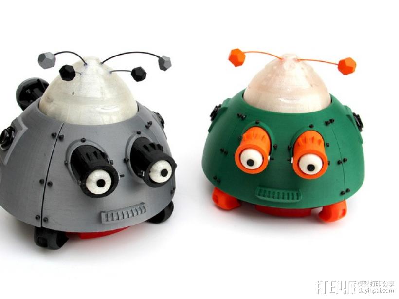 么么哒-虫仔机器人 3D模型  图1