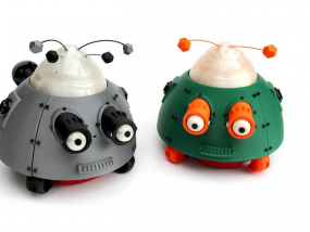 么么哒-虫仔机器人 3D模型