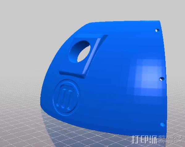 么么哒-虫仔机器人 3D模型  图5