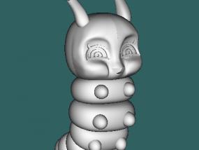 糖宝公仔 3D模型