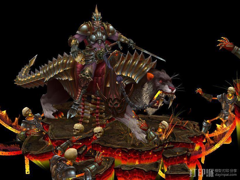 黑武士 3D模型  图1