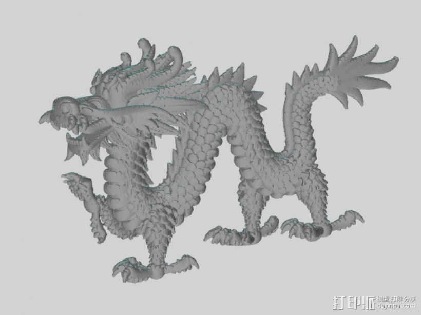 中国行龙 3D模型  图1