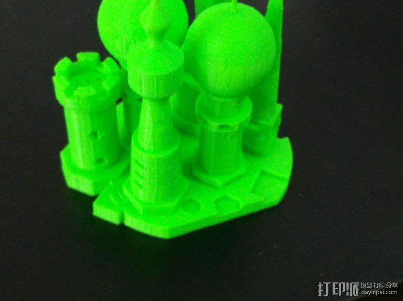 小型城堡 3D模型  图1