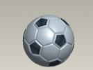 足球 3D模型 图1