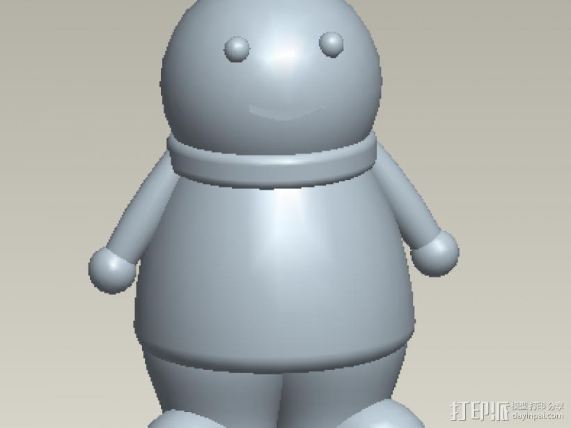 小玩偶 3D模型  图1