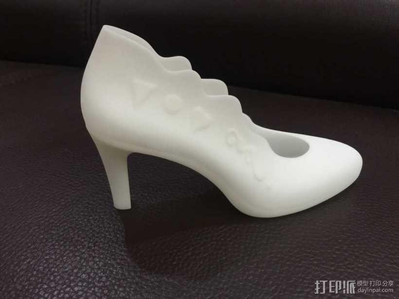 女高跟鞋3D 3D模型  图4
