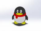 企鹅 3D模型 图2