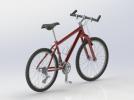 山地自行车 3D模型 图3