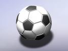足球 3D模型 图2