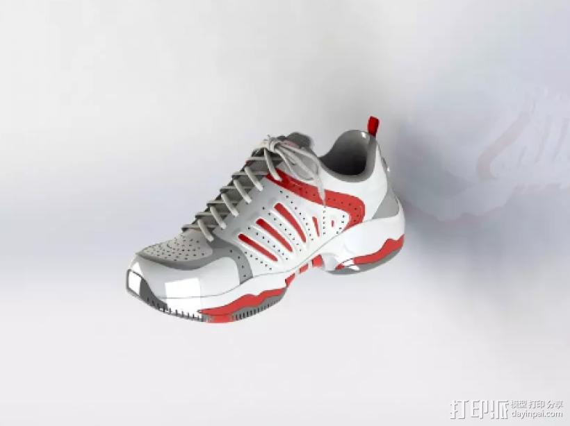 球鞋模型 3D模型  图1