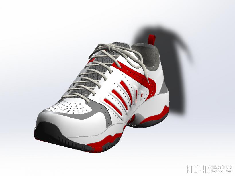 球鞋模型 3D模型  图3